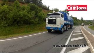 Camions de collection : Volvo F88 et Scania L111