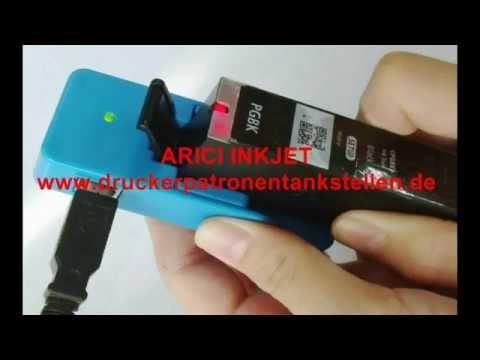 Chip Resetter für Canon PGI-550, Chip Resetter CLI-551 USB Version