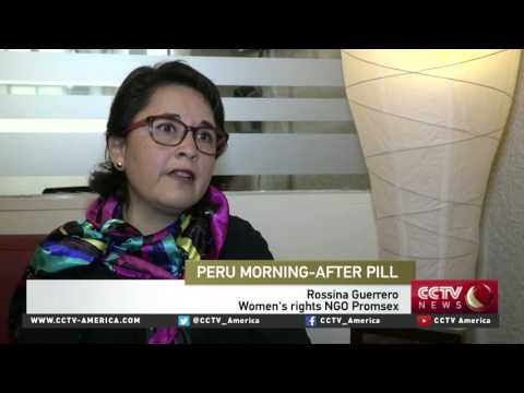 Peru to provide 'morning after pill' for poor women