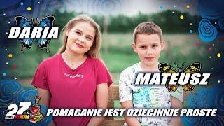 Historia WOŚP - Daria i Mateusz