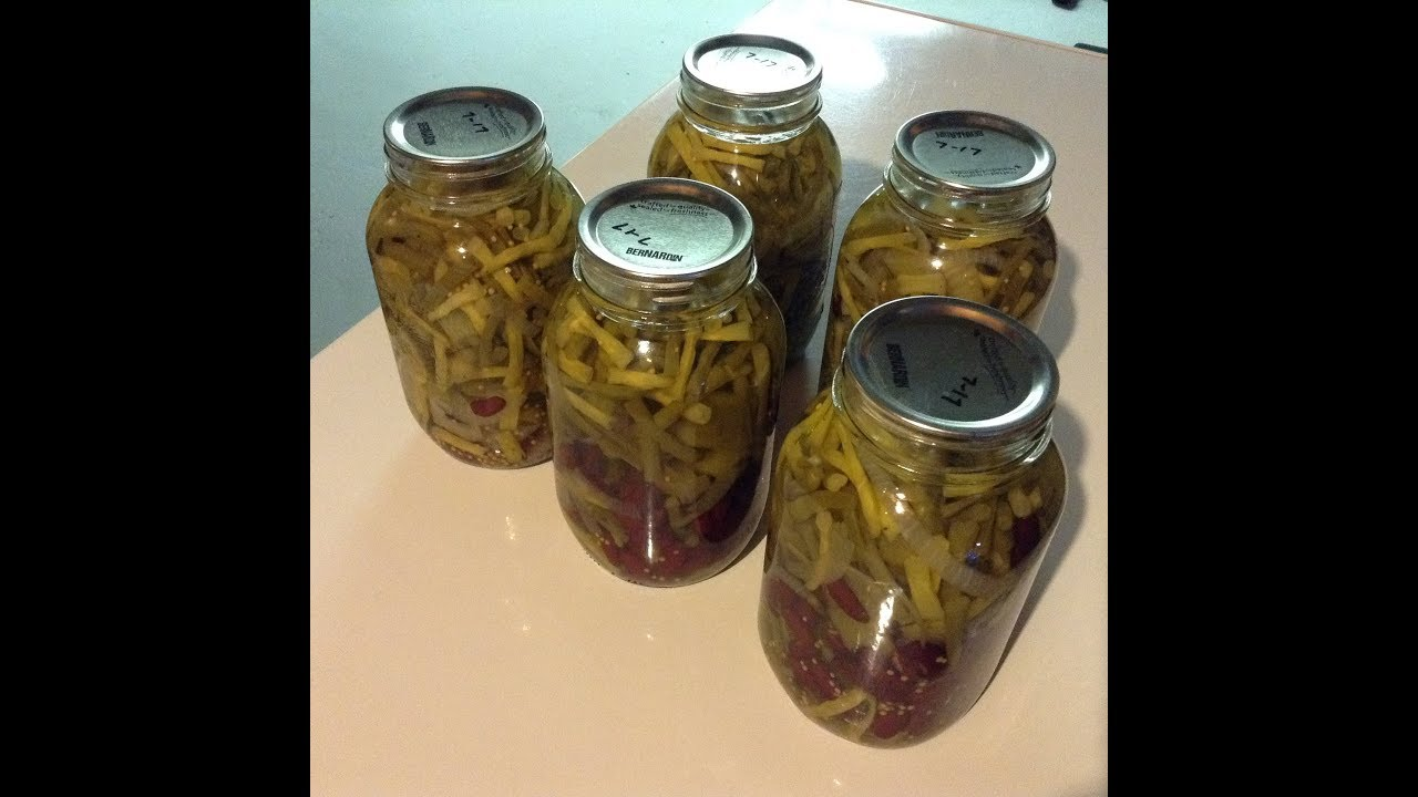 Three Bean Salad Recipe For Canning