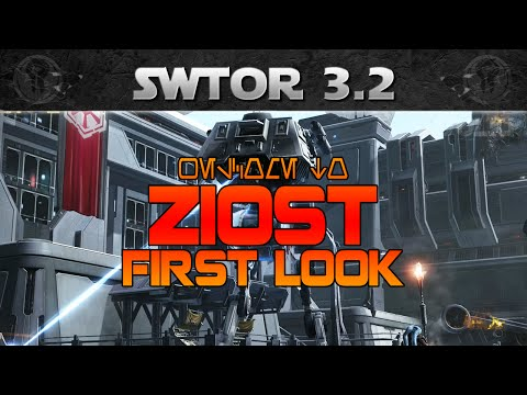 SWTOR Rise of the Emperor - ZIOST First Look (Vendors, Quests, Transports)