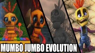 Evolution of Mumbo Jumbo from Banjo Kazooie Games