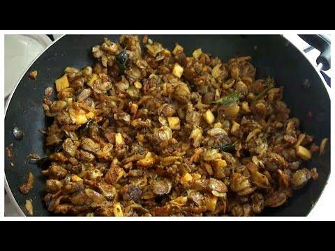 Kakka Erachi Ularthu (Clam Dry Roast)- chinnuz' I Love My Kerala Food