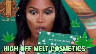 NEW Melt Cosmetics Smoke Sessions Review + Swatches | MakeupShayla