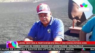 Multinoticias |León: Invitan a participar en Rally motociclístico con destino al Cerro Negro