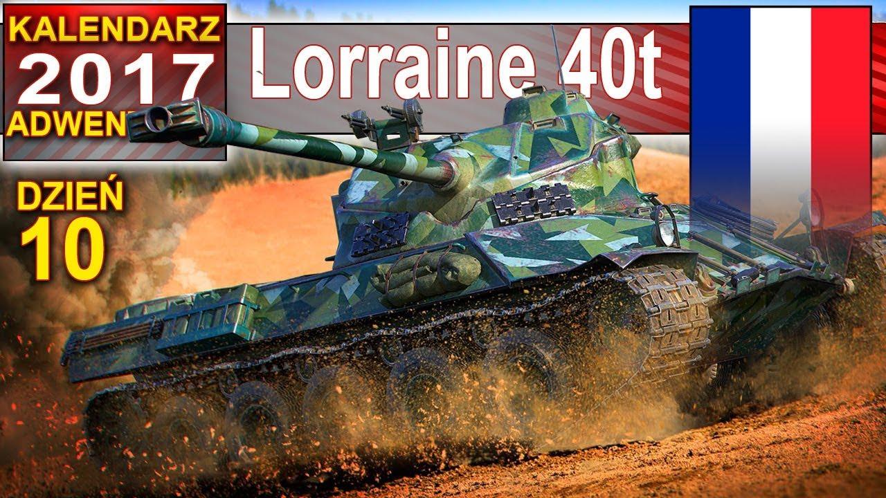 Lorraine 40t – jak szybko przegrać bitwę – World of Tanks