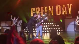 noah epstein with green day blossom music center