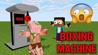 - Monster School Boxing Machine Challenge Minecraft Animations