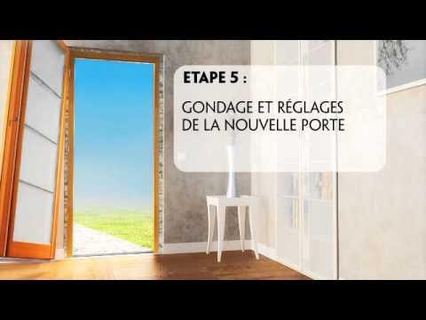 Rénovation De Votre Porte D'Entrée : Dépose Totale - Youtube
