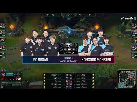GC Busan Rising Star vs Kongdoo Monster  vod