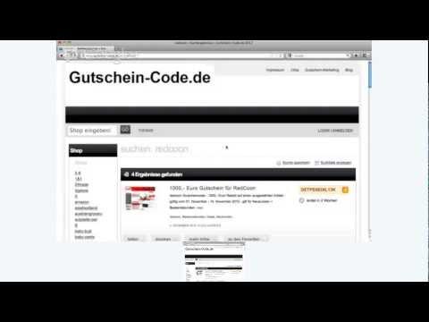 REDCOON GUTSCHEIN 5 EURO