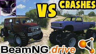 MONSTER VAN vs MONSTER TRUCK - BeamNG drive