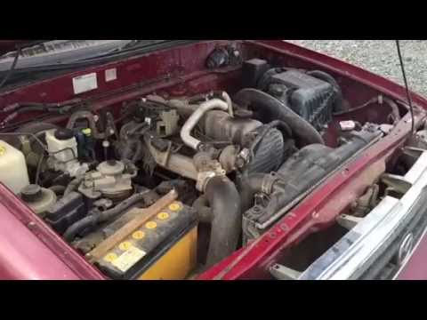 2002 Mazda B2500 2.5TD Engine Run and Test Drive