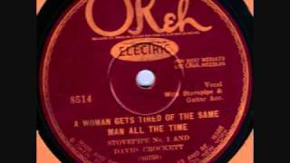 Stovepipe No.1 & David Crockett Okeh 8514 78 rpm
