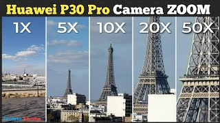Huawei P30 Pro 50X Super Camera ZOOM Test!  P30 Pro First Look Official Video  Periscope Camera 2019