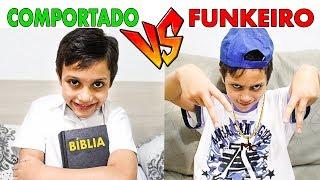 COMPORTADO VS FUNKEIRO