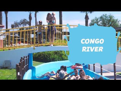 Congo River    Attractions Aqualand Algarve   Vlog #11   English