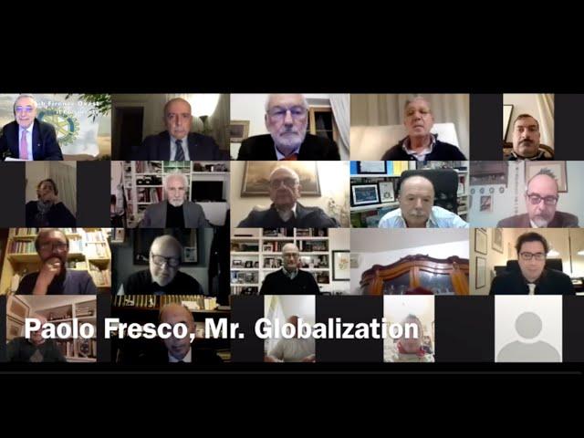 Incontro al Rotary con Paolo Fresco, Mr. Globalization