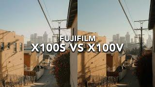 Fujifilm X100S vs Fujifilm X10…