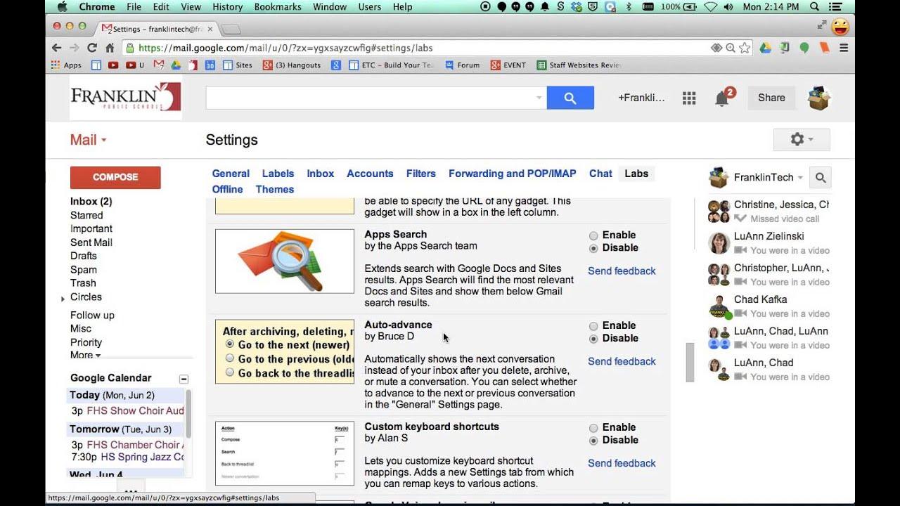 30Tip - Gmail Auto Advance