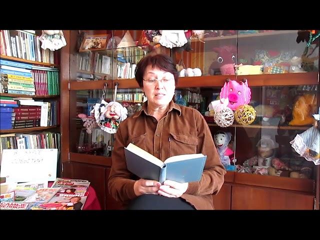 Изображение предпросмотра прочтения – ГалинаКарпун читает произведение «Весеннее небо глядится...» А.А.Фета