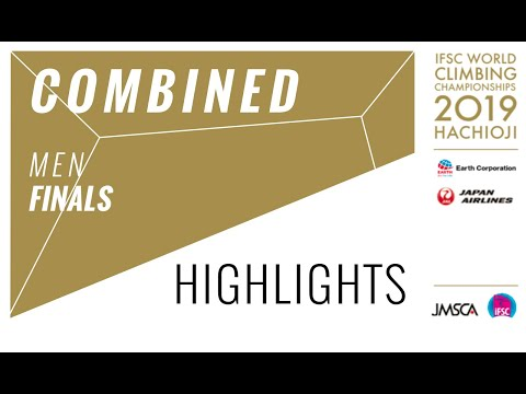 IFSC Climbing World Championships - Hachioji 2019 - Combined Men Final Highlights