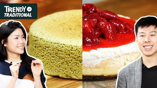 Trendy Vs. Traditional: Cheesecake • Tasty