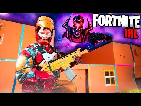 fortnite-irl-avengers-vs-galactus-box-fort!-iron-man,-toys-&-more-(nerf)