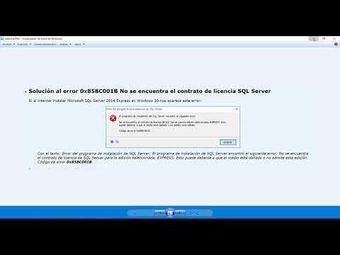 Solución A Error De Idioma Y Otros Errores De SQL Server (Actualización)