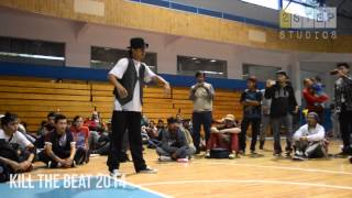 Final Kill the Beat 2014: Popping battle