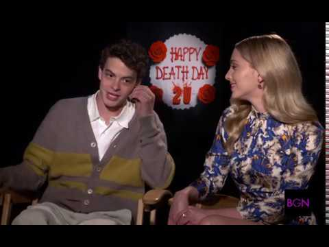 Jessica Rothe & Israel Broussard On The Desk in 'Happy Death Day 2U' Mp3
