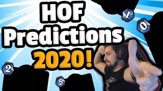 BOLD Hall Of Fame Predictions 2020 - Hearthstone