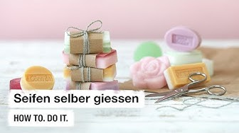 Do it + Garden: Seifen selber giessen. How to. Do it.