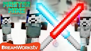 Make a Working LIGHTSABER in MINECRAFT!! | MASTER MINE TUTORIALS