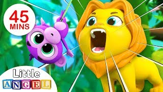 Jungle Animals | Baby Monkey Peekaboo, Animal Song | + More Kids Songs by Little Angel