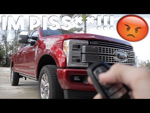 This is EXACTLY what I did NOT want to happen.. 2019 Ford F-250 Powerstroke