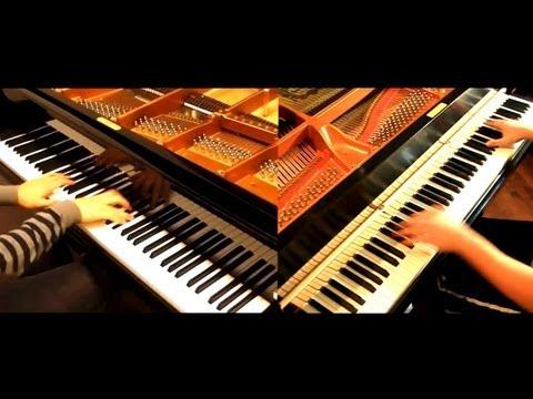 AKB0048 Next Stage ED - Kono Namida wo Kimi ni Sasagu (for 2 pianos with Animenzzz)