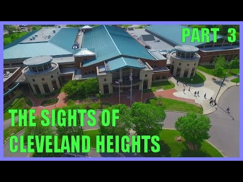 Sights of Cleveland Heights - Part 3 - Phantom 3 Pro Drone - Aerial Video