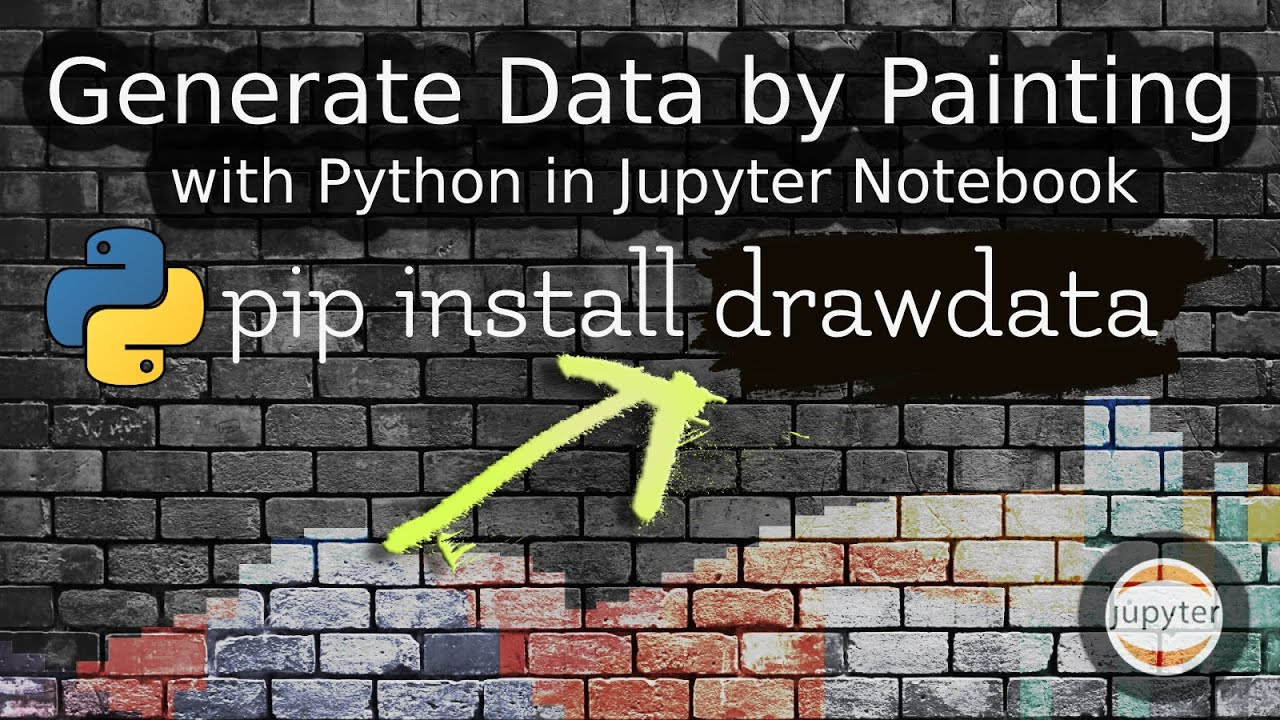 Prepare datasets with drawdata Python Module | Cool Python Tool in Jupyter Notebook