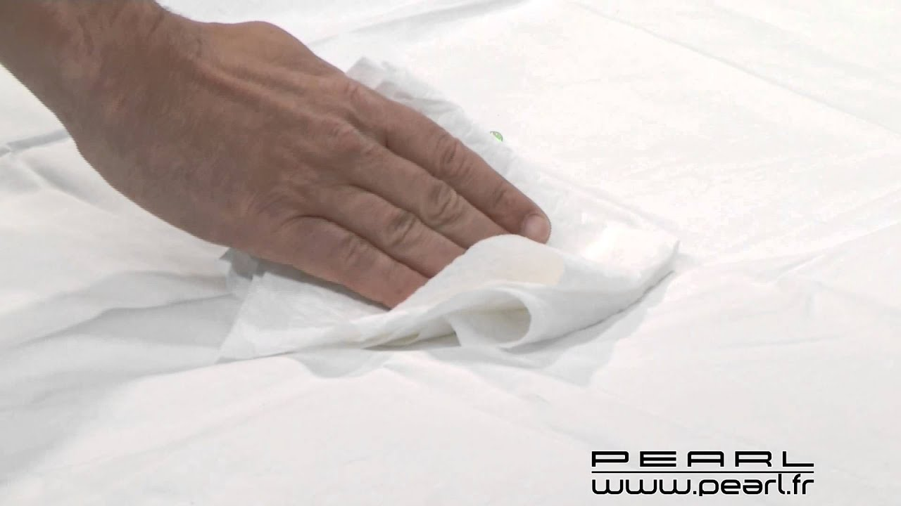 Nc8794 prot ge matelas imperm able 70 x 140 cm youtube - Protege matelas incontinence ...