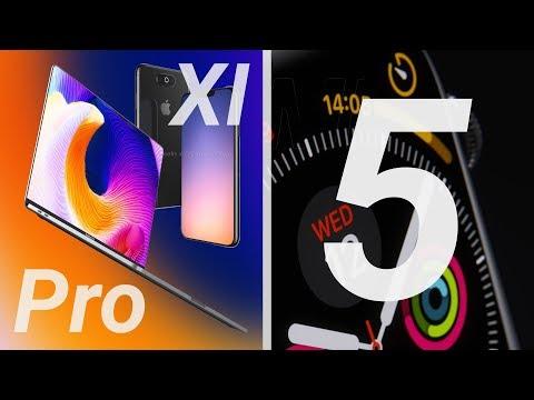 Latest 2019 iPhone XI & Apple Watch Series 5 Rumors + MacBook Pro Redesign Coming!