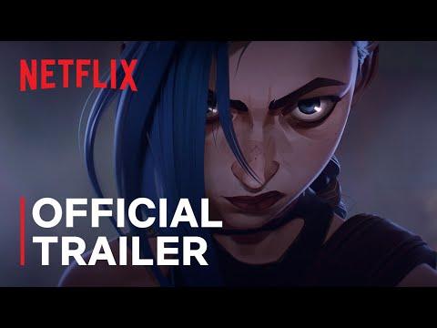 Arcane | Official Trailer | Netflix