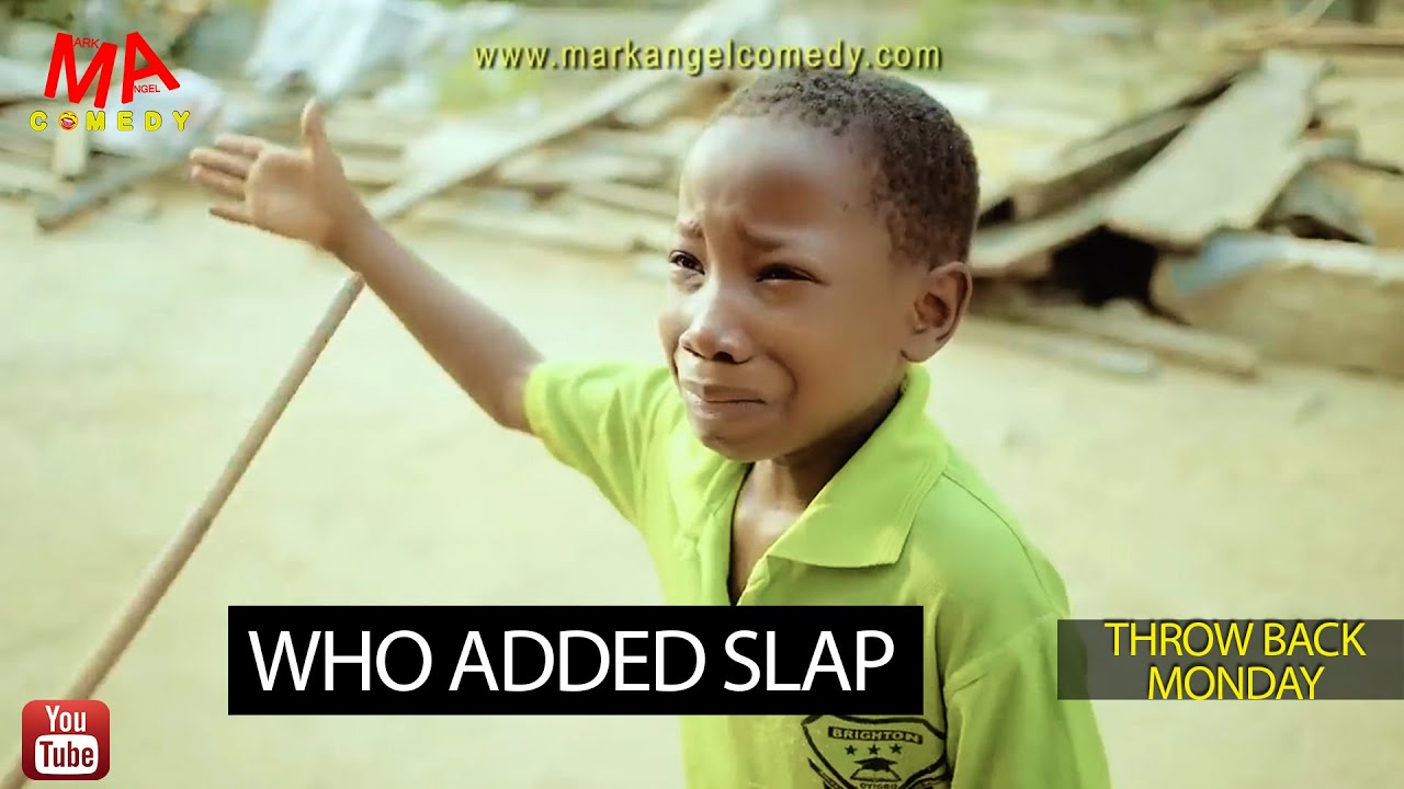 Download WHO ADDED SLAP (Mark Angel Comedy) (Throw Back Monday)