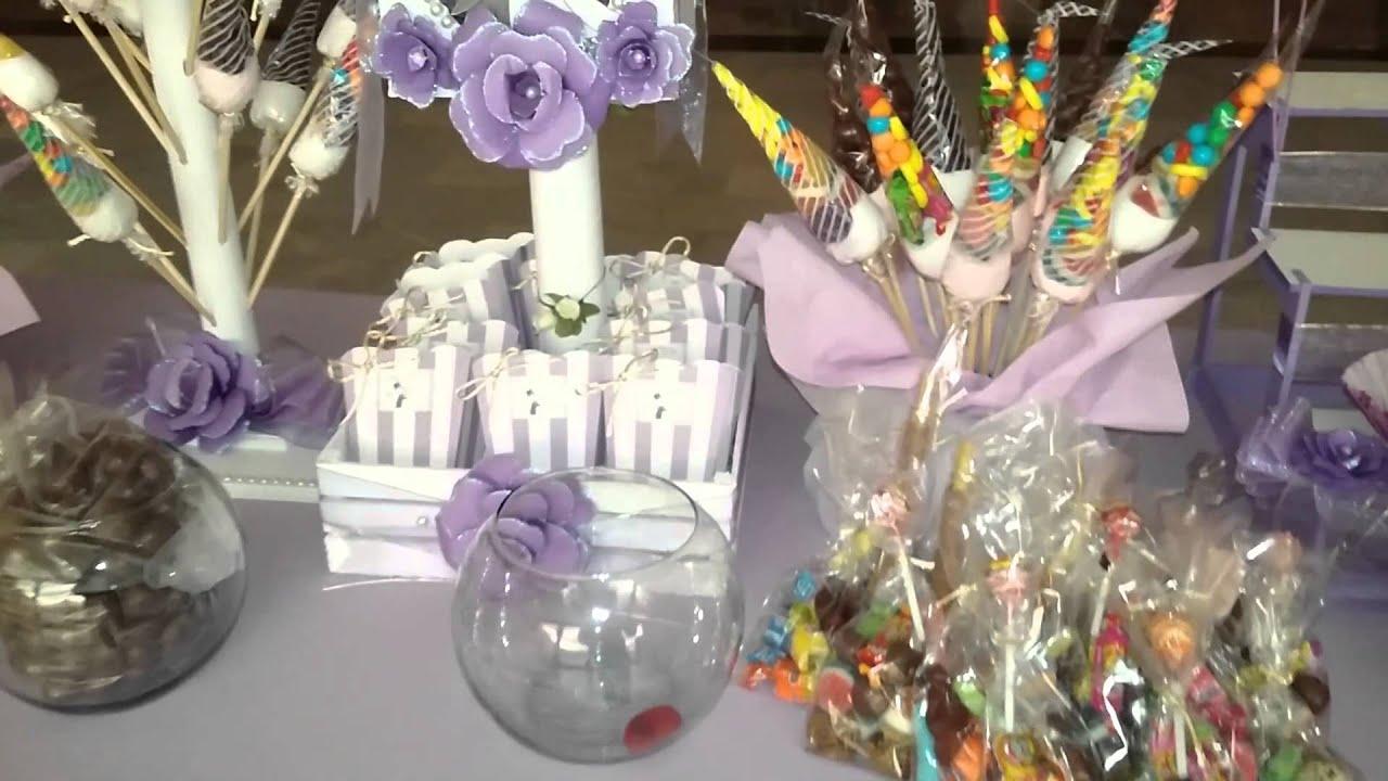 Mesa de dulces para boda como quedo youtube for Mesa de dulces para boda