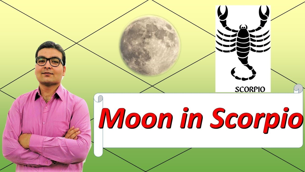 vedic astrology scorpio moon