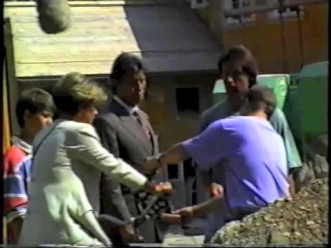 Pierre Brice am Wörthersee 1992 - Dreharbeiten und Clubtreffen