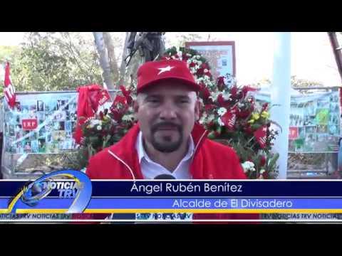 Rubén Benítez y su comunidad homenajearon al héroe caído de El Divisadero