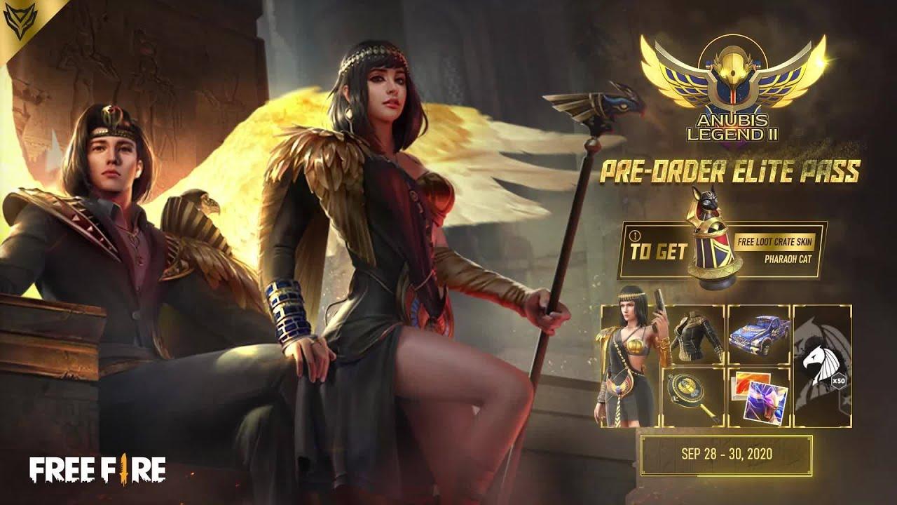 Elite Pass: Anubis Legend II