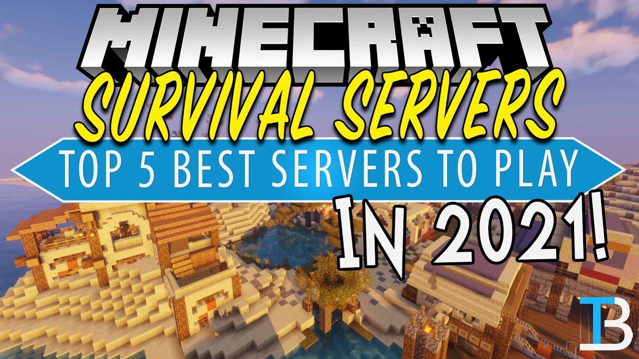 Minecraft Survival Servers Top 5 Best Survival Minecraft Servers